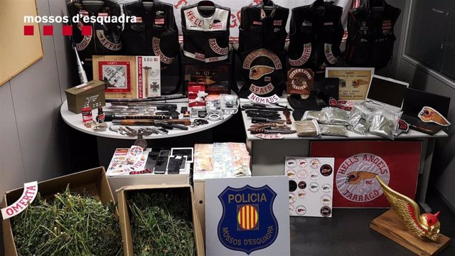 Sucesos.- Detenidos 19 moteros de una banda por actividades ilícitas en Tarragon