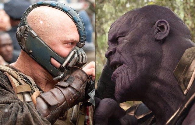 ¿Es Mejor Villano Thanos O Bane? La Última Guerra Entre Fans De Marvel Y DC