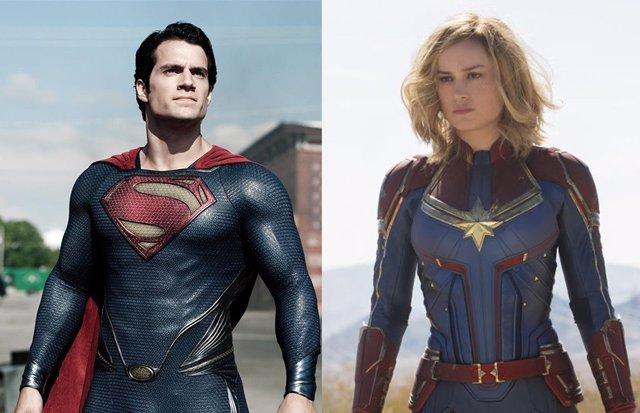 ¿Vencería Capitana Marvel A Superman? Brie Larson Responde