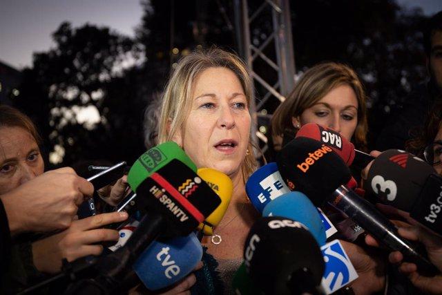 L'exconsellera i candidata del PDeCAT a l'Ajuntament de Barcelona Neus Munté