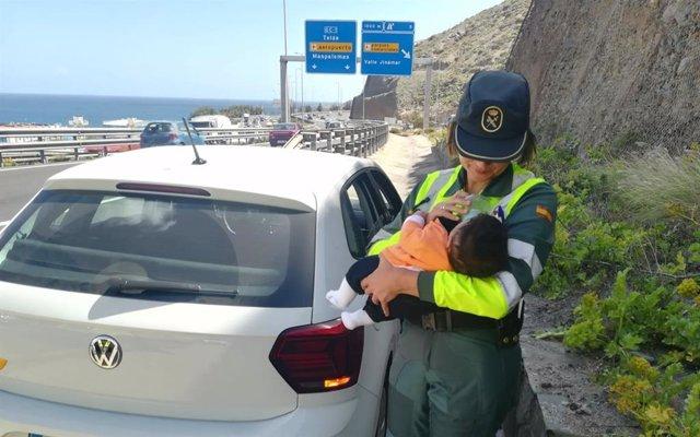 Sucesos.- Auxilian a un conductor tras sufrir un infarto en la GC-3 (Gran Canari