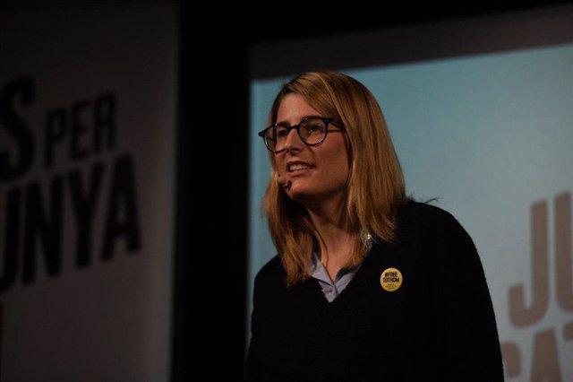Elsa Artadi ser la número dos de JxCat a l'Ajuntament de Barcelona en les muni