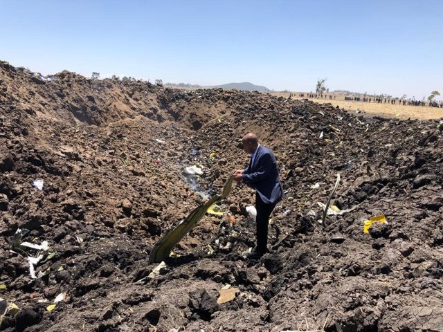 Ethiopian Airlines crash in Addis Abeba