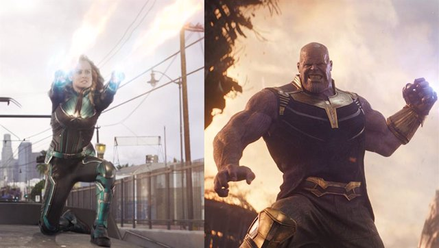 DOMING 17.30 Filtrado el plan de Capitana Marvel para vencer a Thanos en Vengado