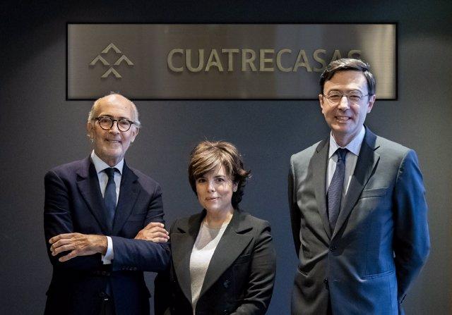 Soraya Sáenz de Santamaría ficha por Cuatrecasas y entrará en su consejo de administración