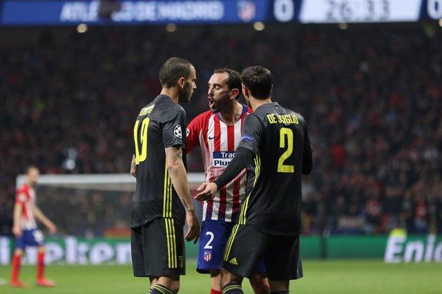Soccer: Champions League - At. Madrid v Juventus