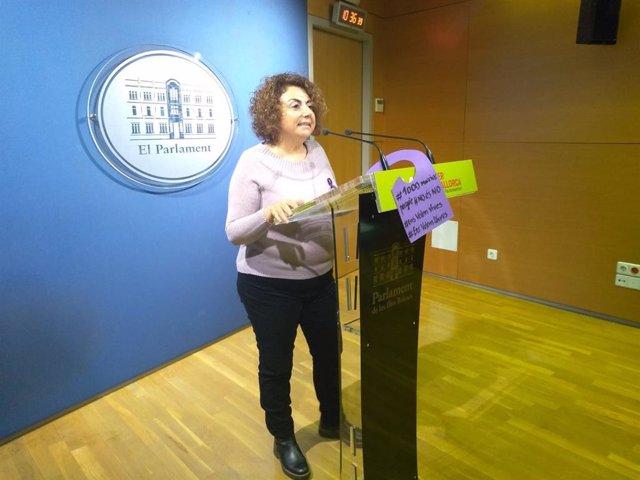 8M.-Dones de MÉS per Mallorca donaran la part proporcional del seu sou de la jor