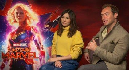 """Jude Law habla de su enigmático personaje en Capitana Marvel: """"No fui consciente de esta fascinación"""""""