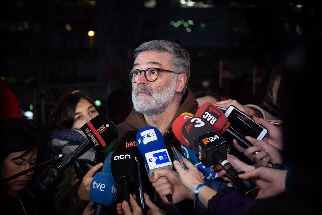 Concentraciones en contra del juicio del 1-O en Barcelona
