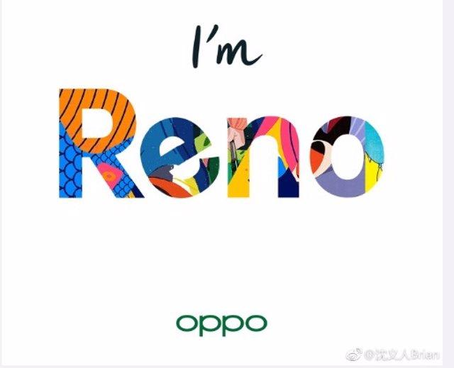 Oppo anuncia su nueva familia de 'smartphones' Reno, que presentará el 10 de abr