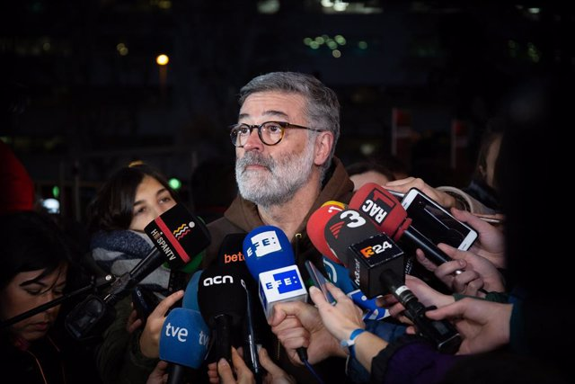 Concentracions en contra del judici de el 1-O a Barcelona