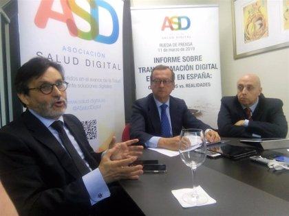 """La transformación digital de salud en España está """"prácticamente concluida"""", aunque ha sido """"lenta"""""""