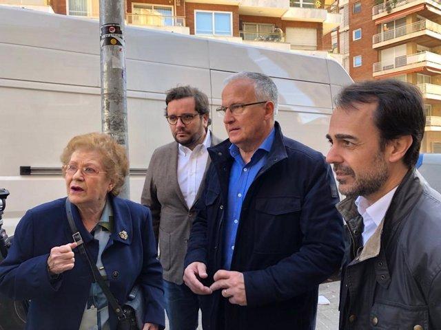 """Josep Bou (PP) advierte de que pondrá fin a las """"ocupaciones ilegales"""" si llega"""