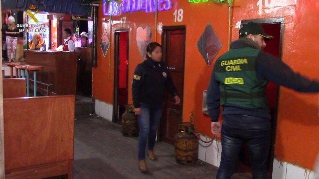Una operación policial se salda con la detención de 8 personas por Trata y la li