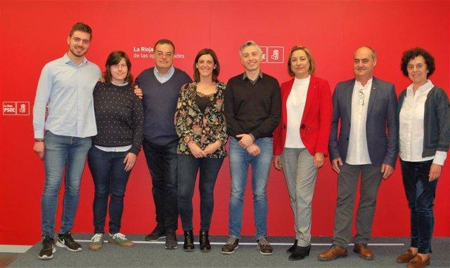 """El PSOE riojano califica de """"compensada"""" la candidatura para el Congreso y para"""
