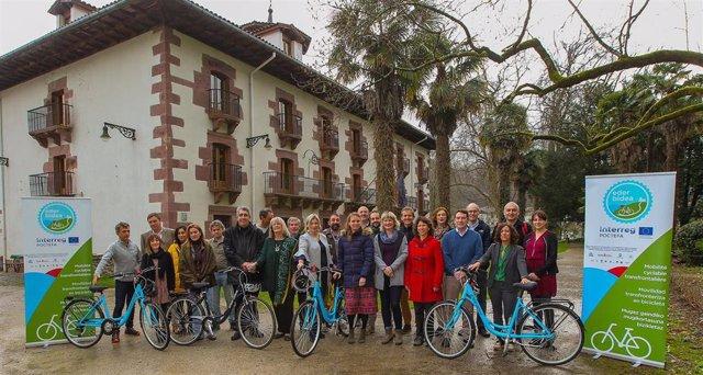 El Comité de Pilotaje del proyecto transfronterizo de movilidad sostenible en bi