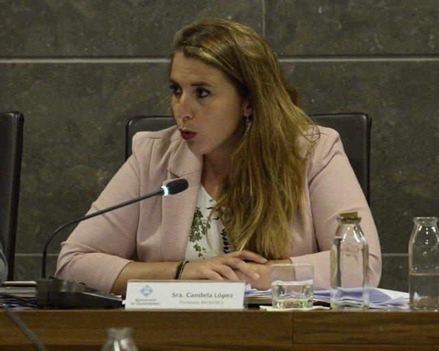 La exalcaldesa de Castelldefels y coordinadora general de Catalunya en Comú Cand