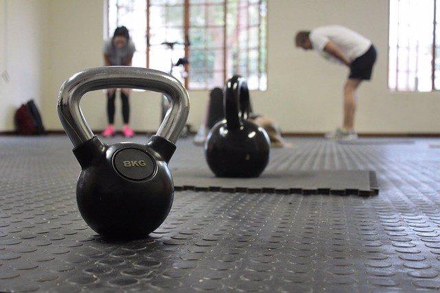 Entrenamiento, gimansio, pesas