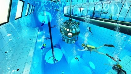Así es Deep Spot, la piscina más profunda del mundo que abrirá en Polonia este año