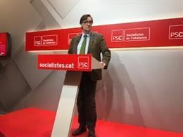 """28A.- El PSC Veu En Les Llistes De Puigdemont Un Debat """"Desenfocat"""" Per Liderar"""