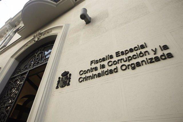 Fachada de la Fiscalía Anticorrupción