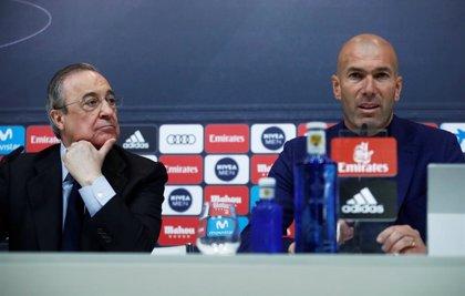 Zidane vuelve al Real Madrid como sustituto de Solari