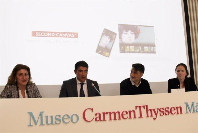 Málaga.- El Museo Thyssen digitaliza nueve obras para ofrecerlas en súper alta r