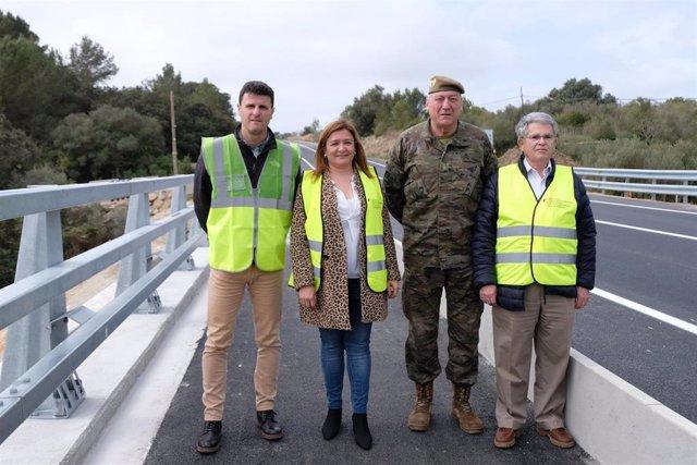 Finalizan las obras del puente nuevo de Artà tras cinco meses de trabajo