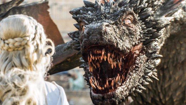 El maestro de dragones de Juego de tronos revela los secretos de Drogon, Viserio