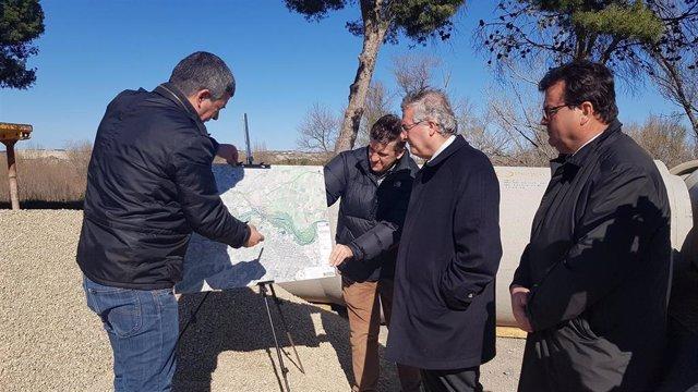 Zaragoza.- Olona recuerda en Zuera la importancia de que los municipios se impli
