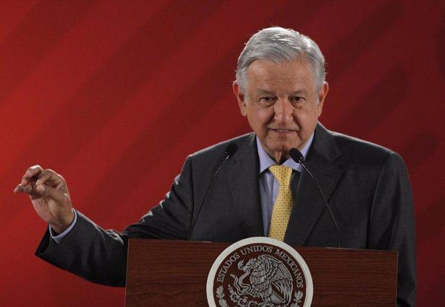 Mexican President Obrador marks International Women\'s Day