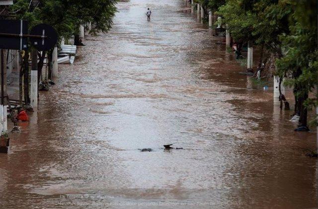 Doce muertos y varios heridos por las fuertes lluvias en Sao Paulo