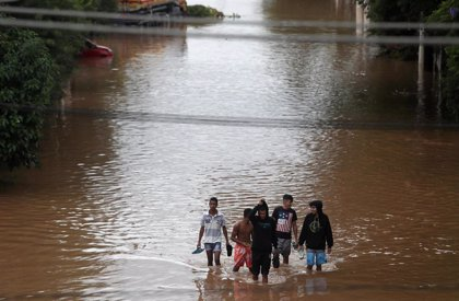 Al menos 11 muertos por las fuertes inundaciones en Sao Paulo