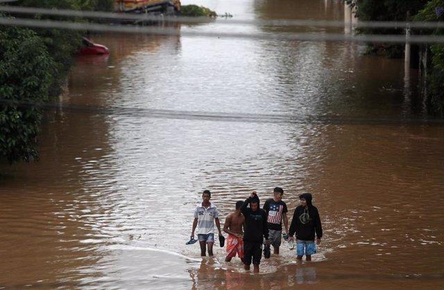 Brasil.- Al menos 11 muertos por las inundaciones en Sao Paulo
