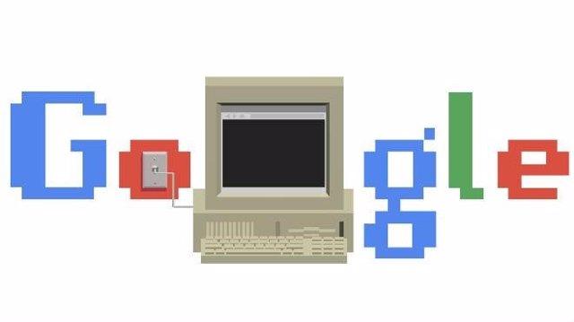 Google celebra el 30 aniversario del nacimiento de Internet con un divertido 'do