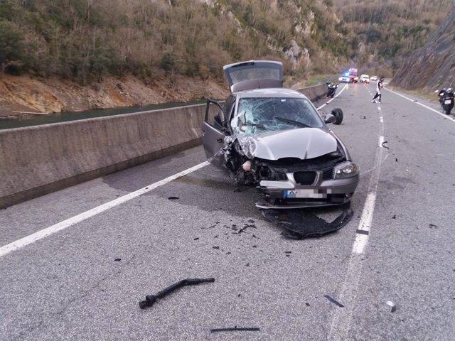 AMP.- Sucesos.- Fallece un motorista de 39 años en una colisión con un vehículo