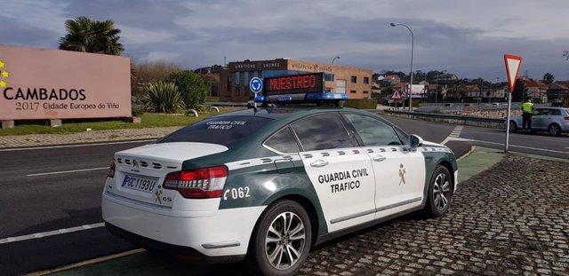 Cazada dúas veces ebria ao volante con só dúas horas de diferenza no Salnés (Pon
