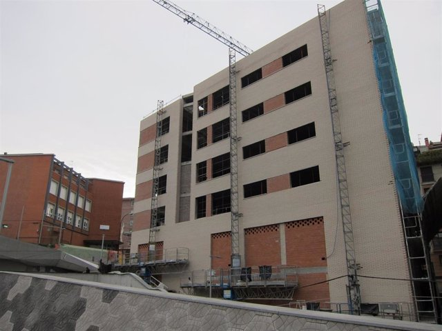 Edificio en construcción