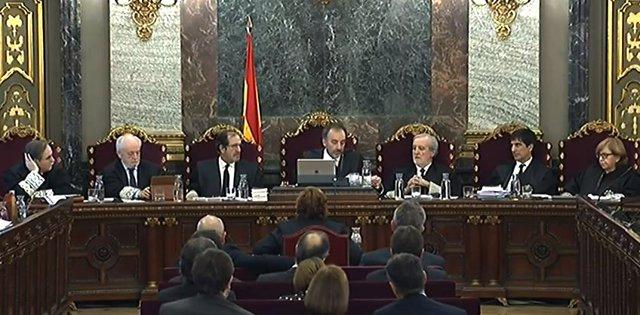 Quinta Jornada del Juicio del procés en el Tribunal Supremo