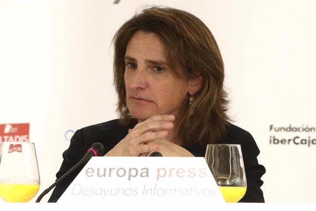 Desayuno Informativo de Europa Press con Teresa Ribera
