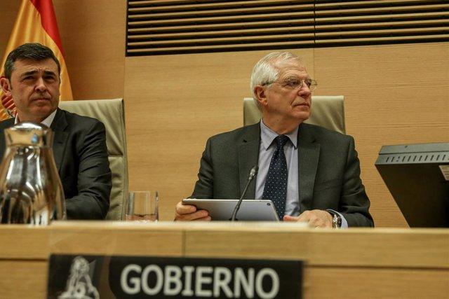 Compareixena de Josep Borrell al Congrés per explicar la posició espanyola