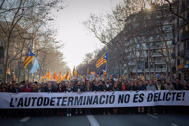 Foto | Quim Torra Manifestación