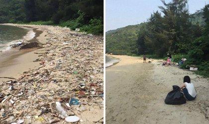 El desafío 'Trashtag' es la nueva tendencia viral que tiene a todo el mundo recogiendo basura