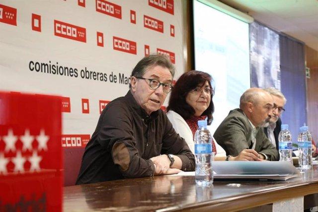 CCOO reclama más presupuesto y plantilla en la sanidad madrileña, que vive una s