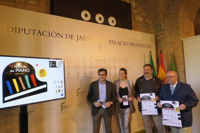 Jaén.- MásJaén.- El II Festival de Piano de Jaén incluirá once actuaciones entre