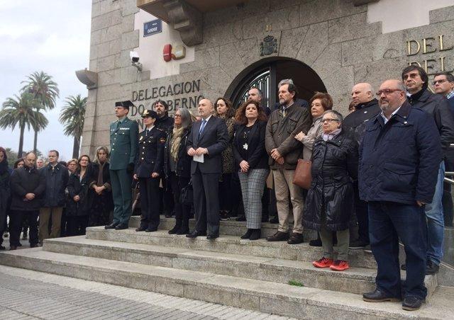 Galicia se une para mostrar su repulsa por los últimos crímenes de violencia mac