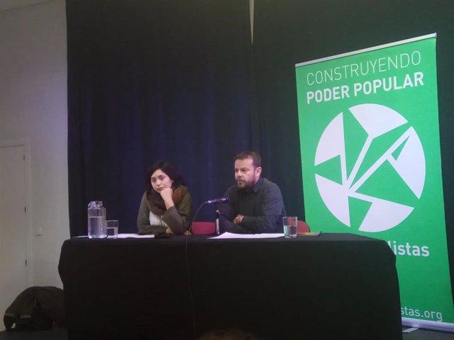 La concejala Rommy Arce y el diputado Raúl Camargo presentan los pasos de Antica