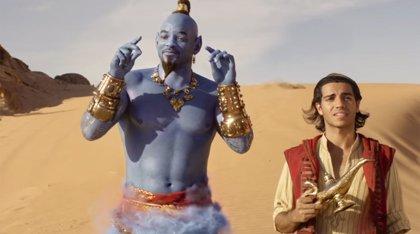 Aladdin: El Genio de Will Smith fabrica un príncipe en el nuevo y alucinante tráiler