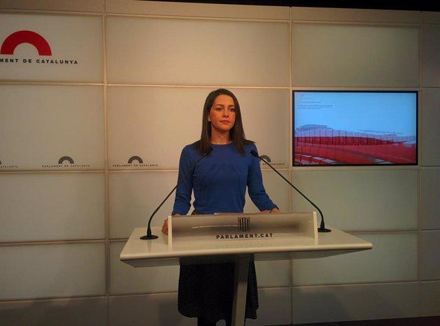 """28A.- Cs aprova la coalició amb UPN i defensa un conveni """"basat en la transparèn"""