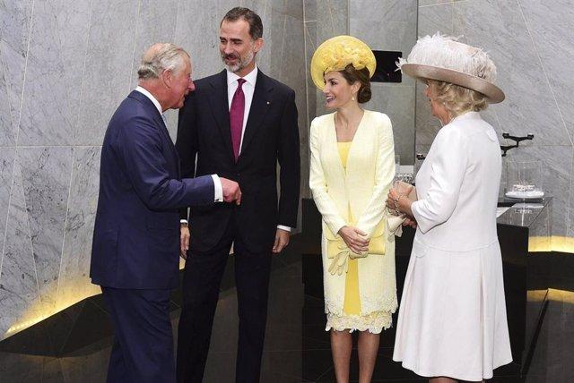 La Reina Letizia y el Príncipe de Gales inauguran mañana una exposición de Sorol